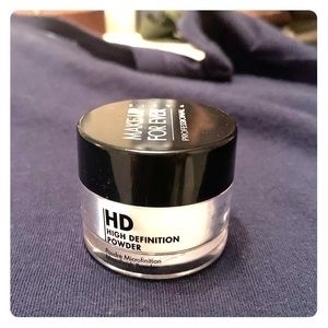 Make Up For Ever HD Finishing Powder